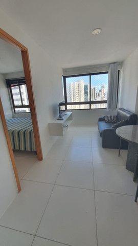 009L - Apartamento tipo flat para alugar, 1 quarto, Mobiliado, lazer, em Boa Viagem - Foto 3