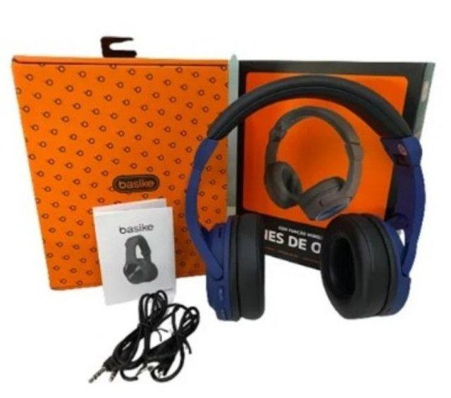 Fone De Ouvido Bluetooth Com Microfone - 8414 - Foto 2