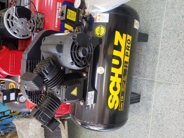 compressor de ar 10 pes 100L 2HP 140psi