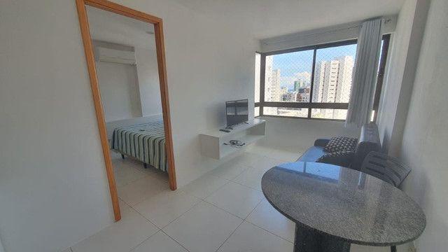 009L - Apartamento tipo flat para alugar, 1 quarto, Mobiliado, lazer, em Boa Viagem - Foto 2