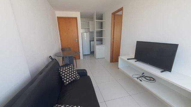 009L - Apartamento tipo flat para alugar, 1 quarto, Mobiliado, lazer, em Boa Viagem - Foto 6