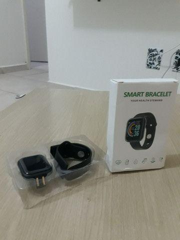 Smartwatch y68 À Prova D 'Àgua entrega Grátis curitiba - Foto 4