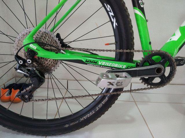 Bike aro 29 venzo x-blaze eno carbono  valor 9.000 - Foto 3