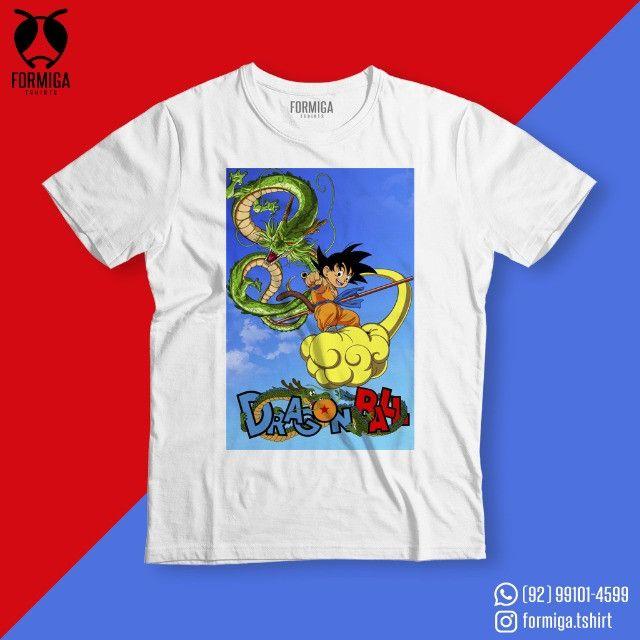 Camisa Dragon Ball Anime Geek - Foto 4
