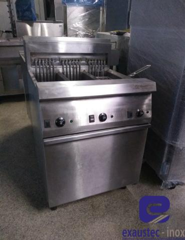 Fritadeira com 3 cestos