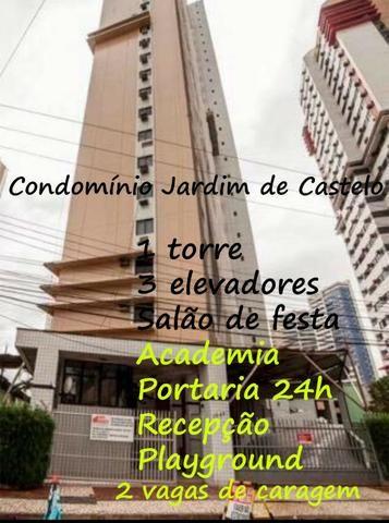 Venha morar bem! Apartamento em Cocó. Semi-projetado