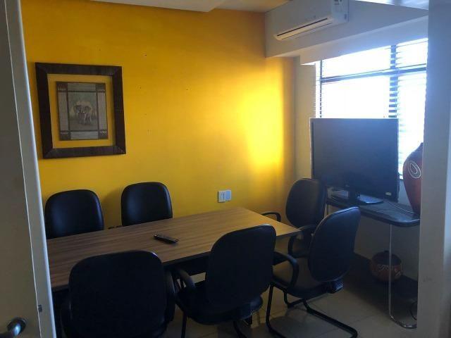 Sala Comercial 53m² com Garagem e mobiliada - Ed. Work Center - Avenida do CPA - Foto 8