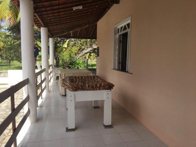 Chácara com espaço gourmet, piscina, salão de jogos, campo gramado. No Mosqueiro - Foto 9