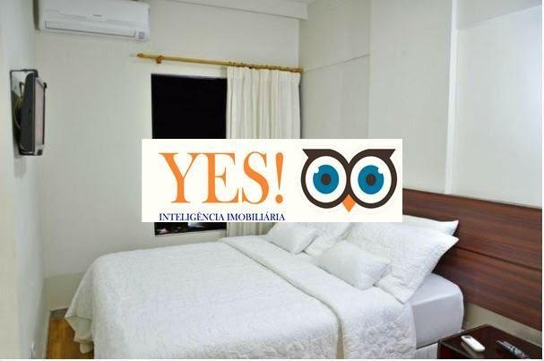 Apartamento Flat para Venda no Classe Apart Hotel - Ponto Central