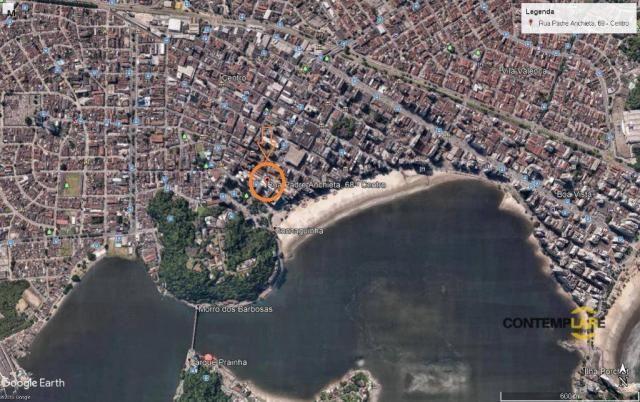 Terreno à venda, 1238 m² por r$ 5.600.000,00 - centro - são vicente/sp