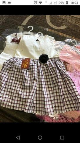 Lote de roupas novas, infantil menina $250 - Foto 5