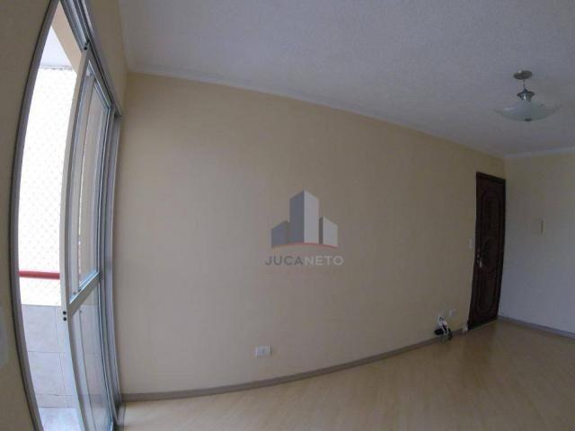 Apartamento com 2 dormitórios para alugar, 52 m² por r$ 1.350/mês - parque são vicente - m - Foto 6