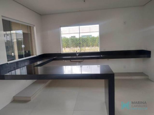 Casa com 2 dormitórios à venda, 242 m² por r$ 1.200.000 - condomínio veredas da lagoa - la - Foto 8