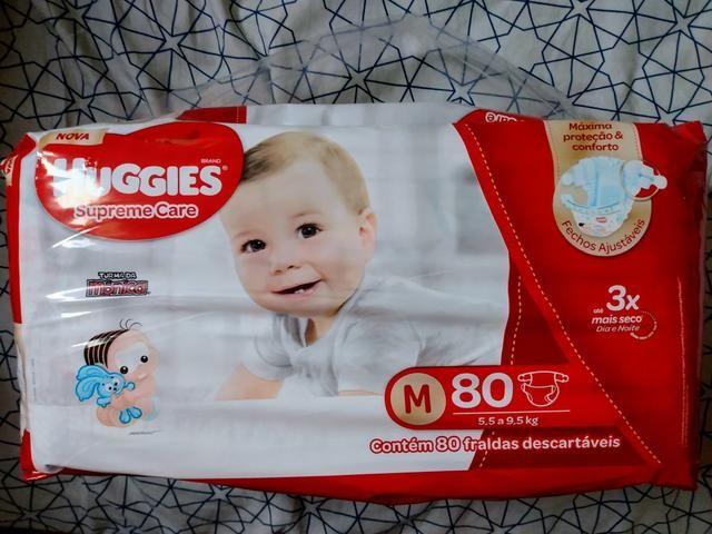 Huggies Supreme Care M - 80 fraldas