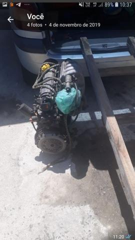 Motor e caixa megane 2.0 8v - Foto 2