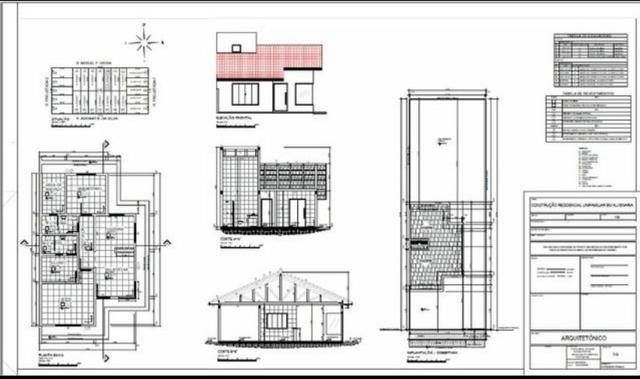 Projetos para construção, Reforma e Regularização de Obra - Foto 2