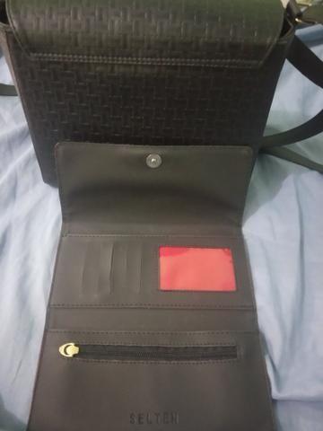 Bolsa e carteira nova (nunca usada) - Foto 3