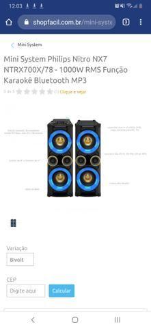 Mini System Ntrx700x 1000w - Foto 2