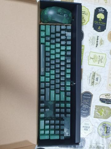 Kit teclado e mouse Redragon zerado - Foto 4