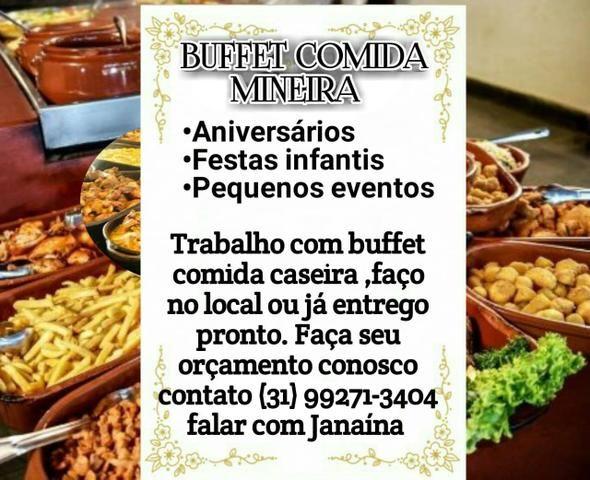 Buffet comida mineira