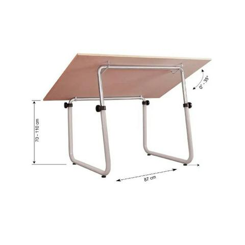Mesa para Desenho Trident com Tampo de 150 x 100 cm