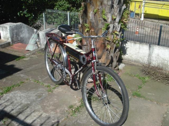 Bicicleta Caloi Barra Forte das antigas - Foto 3