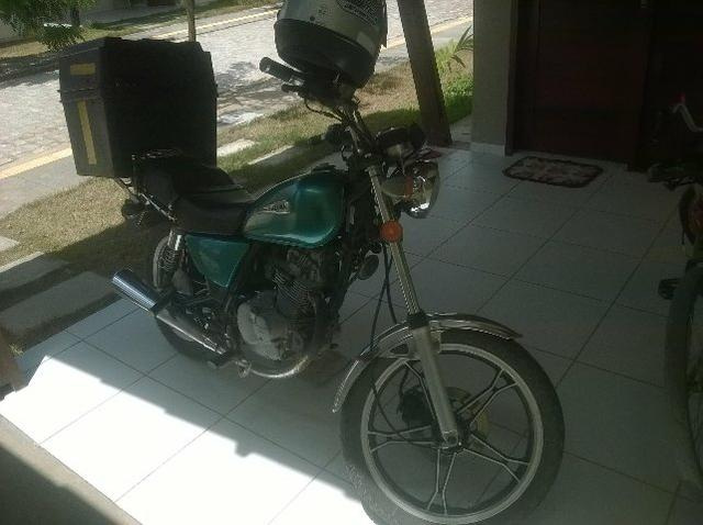Vendo moto Suzuki - Foto 3