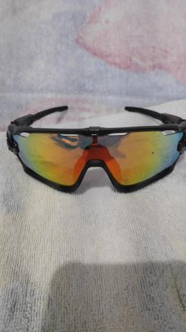 Oculos Oakley JawBreaker 5 lentes - Foto 5
