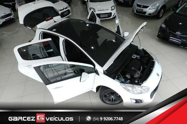 Peugeot 308 1.6 Active Flex Manual Com Teto Leds Diúrnos Couro Multimídia Top - Foto 18