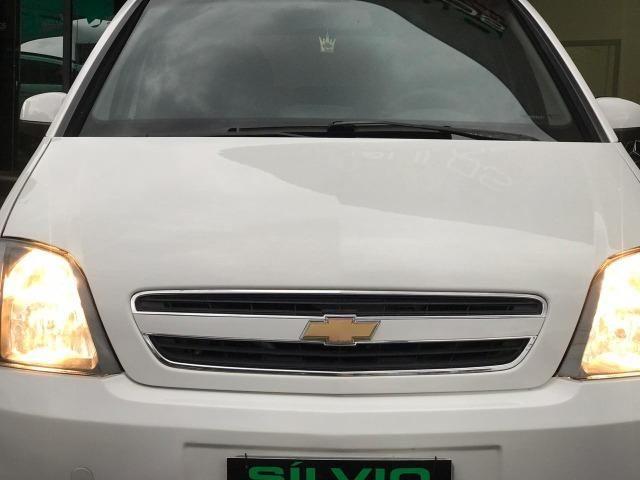 Meriva Maxx 1.4 2011 Branco GNV - Foto 12