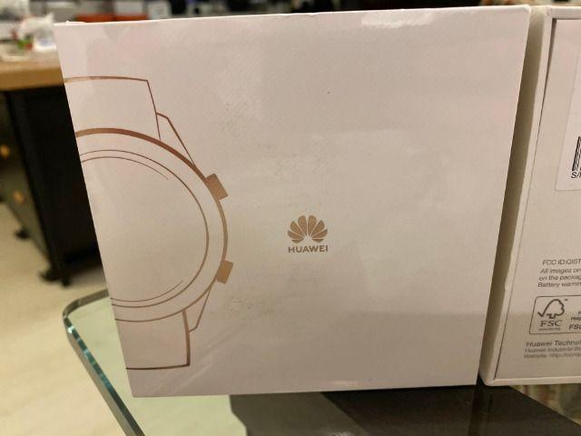Smartwatch Huawei GT, Branco, Lacrado, Zero, Ela-B19 - Foto 2