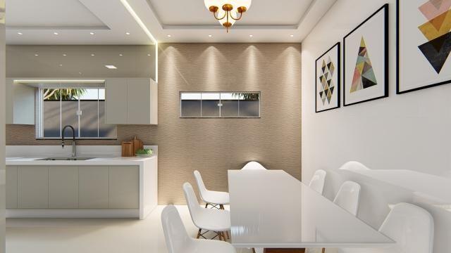 8445 | Casa à venda com 3 quartos em Jardim Cristhais 2, Dourados - Foto 3