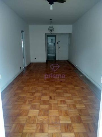 Apartamento com 3 dormitórios à venda, 110 m² por R$ 450.000,00 - Boqueirão - Santos/SP