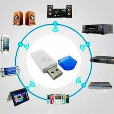 Usb Sem Fio Bluetooth Dongle Adaptador Receptor De Música - Foto 3
