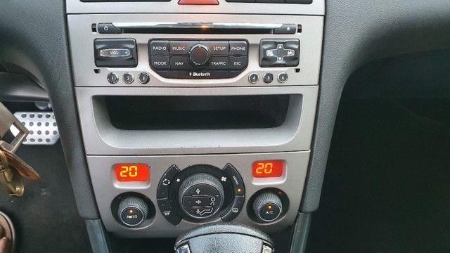 Peugeot 408 Griffe 2011 Prata - Automático/Teto Solar/Bancos de Couro - Abaixo da FIPE!!! - Foto 8