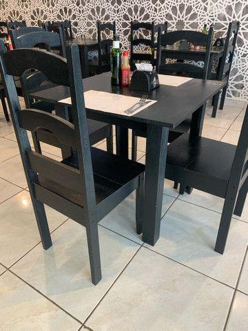 Jogo de mesa e cadeiras  - Foto 5