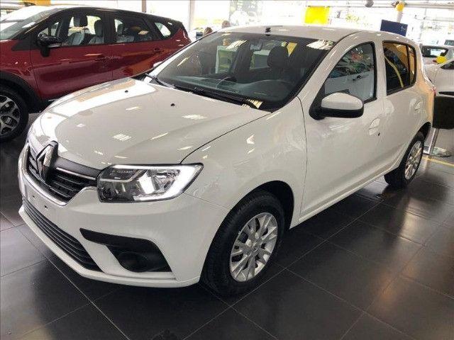 Renault Sandero ZEN 1.0 2022 Ent DE R$17.700,00 + 48X DE R$975,00 + parcela final