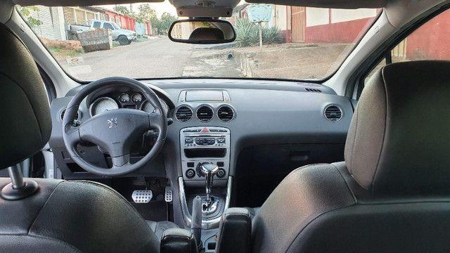 Peugeot 408 Griffe 2011 Prata - Automático/Teto Solar/Bancos de Couro - Abaixo da FIPE!!! - Foto 11