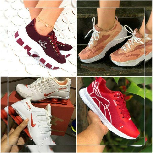 Mizunos, Nikes, Adidas e Diversos  - Foto 2