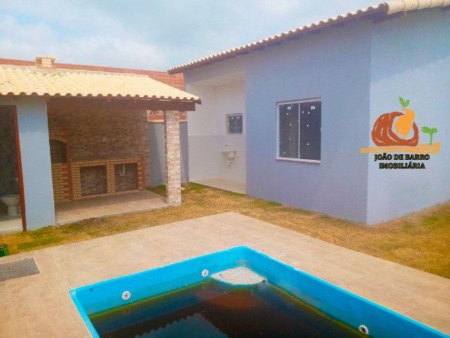 Casas em Unamar Tamoios Cabo Frio com piscina e churrasqueira - Foto 6
