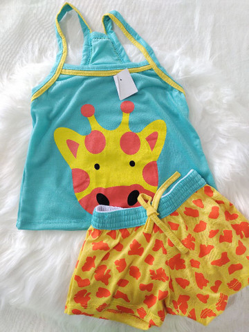 Pijama Infantil Girafinha  - Foto 3