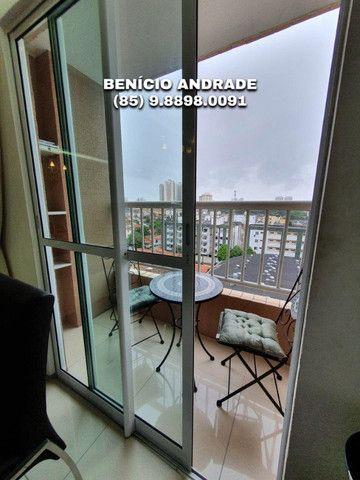 Apartamento bem localizado, todo projetado, nascente e com lazer completo! - Foto 5