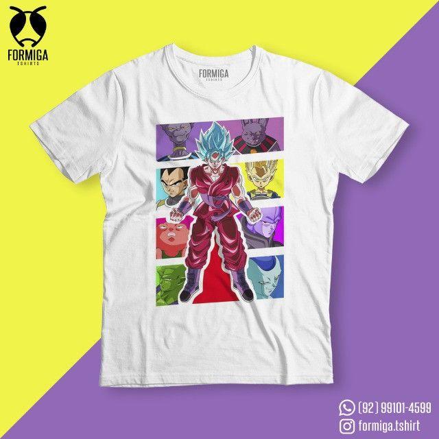 Camisa Dragon Ball Anime Geek - Foto 2