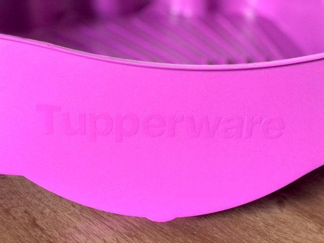 Tupperware Importada Escorredor De Louça Cor Roxo - Foto 3