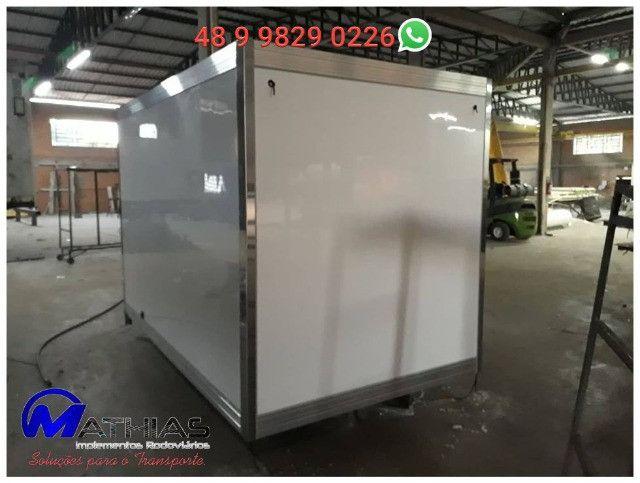 baus termicos frigorificos e refrigerados usados novos e semi novos  - Foto 5