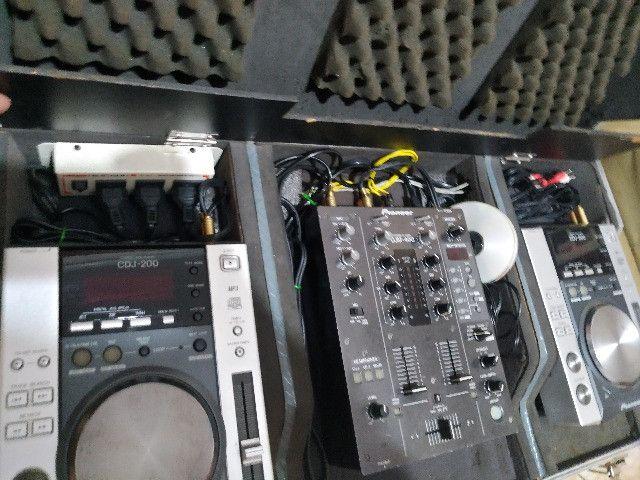 Kit CDJ + Mixer + som - Foto 3