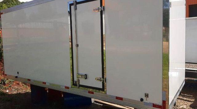 baus termicos frigorificos e refrigerados usados novos e semi novos  - Foto 3