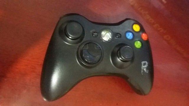 Xbox 360 com controle e jogos usado - Foto 3