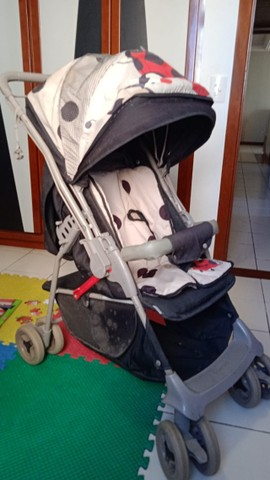 Carrinho de Bebê Galzerano Joaninha Unissex - Foto 3