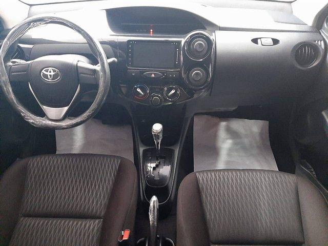 Etios 2018 1.5 X Sedan, flex, automático  - Foto 5